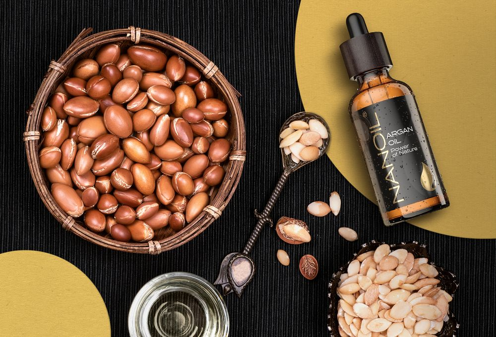 argan oil nanoil hair oil damaged hair